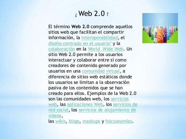 Web 2.0 power point Slide 2