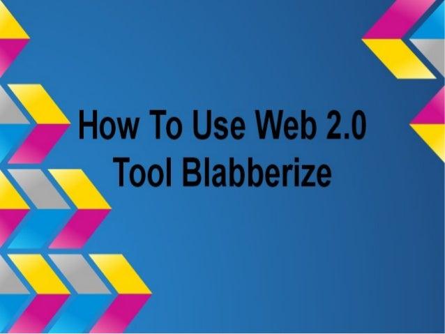 Web 2.0 tool