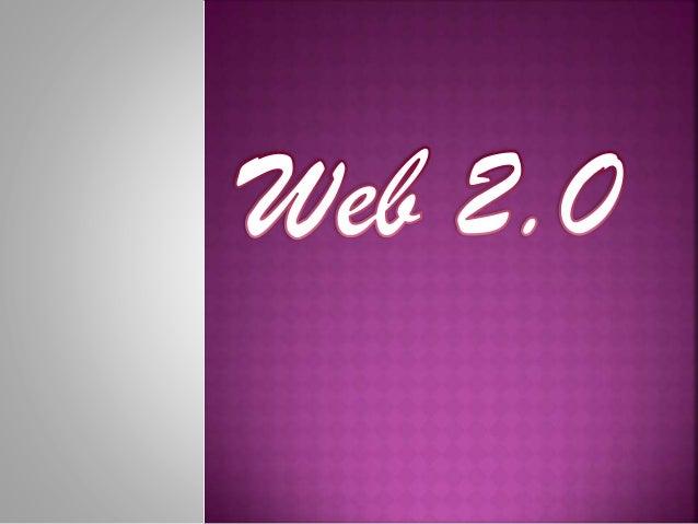  Le  Web 2.0 : quels principes ? 1 Les principaux concepts  Le Web 2.0 : quels outils ? 2 Identification et typologie d'...