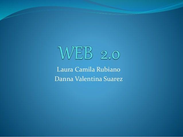 Laura Camila Rubiano  Danna Valentina Suarez