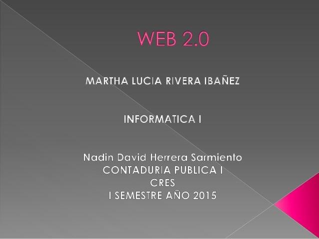DEFINICION INTRODUCCION A LA WEB 2.0 ORIGEN DEL TERMINO CONSECUENCIAS WEB 2.0 DEBILIDADES WEB 2.0 CARACTERISTICAS SERVICIO...