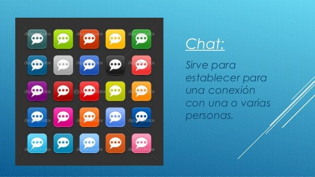  Click to edit Master text styles Second level Third level Fourth level Fifth level Chat: Sirve para establecer para una ...