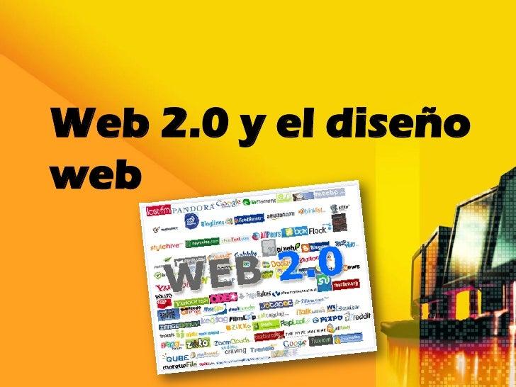Web 2.0 y el diseñoweb