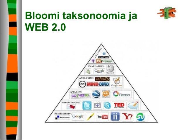 Bloomi taksonoomia ja WEB 2.0