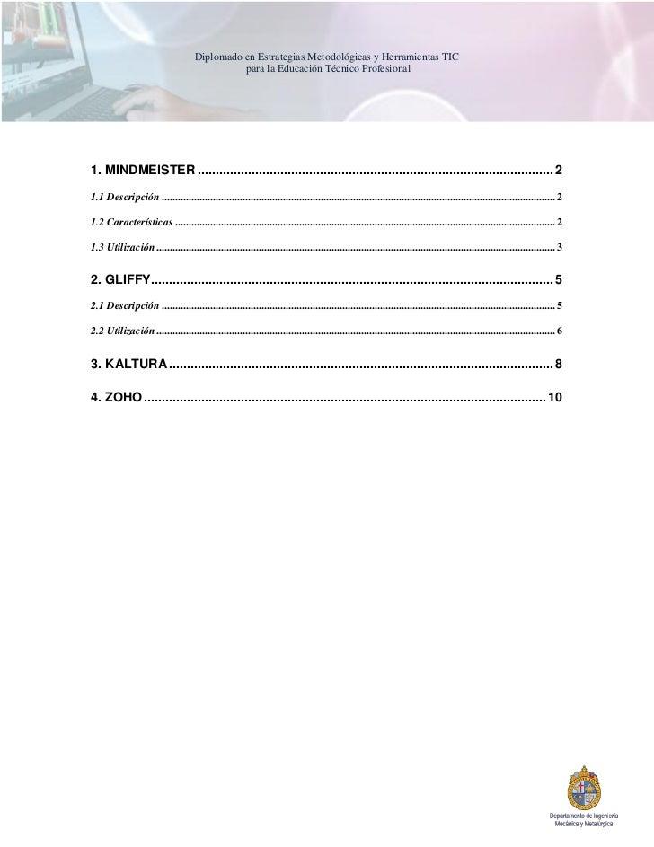 Diplomado en Estrategias Metodológicas y Herramientas TIC                                              para la Educación T...