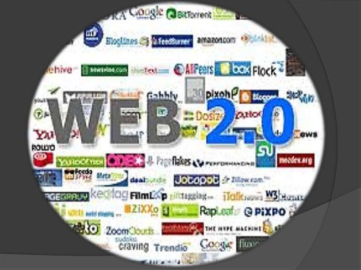 Contenido   ¿Qué es la web 2,0?   Origen del término   Cambios producidos   Diferencias entre la web 1,0 y la 2,0   H...