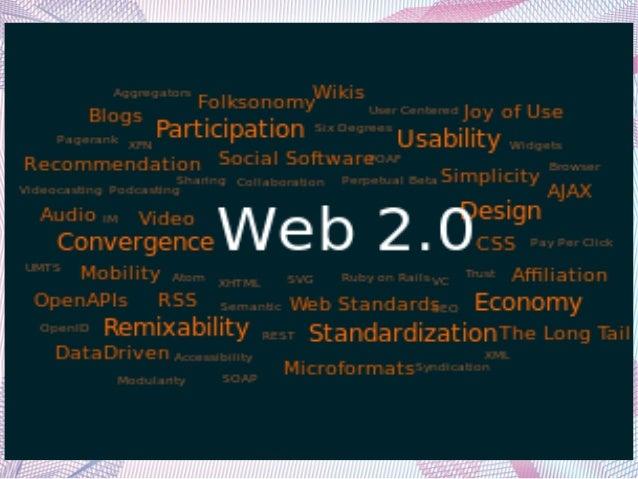 ΙΣΤΟΡΙΑ ΤΩΝ ΣΥΝΕΡΓΑΤΙΚΩΝ        ΕΡΓΑΛΕΙΩΝ WEB 2.0●   Η φράση Web 2.0 ειπώθηκε για πρώτη φορά το 2004 κατά τη διάρκεια ενός...