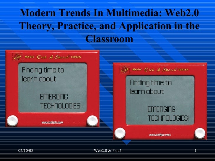 Modern Trends In Multimedia: Web2.0 Theory, Practice, and Application in the Classroom