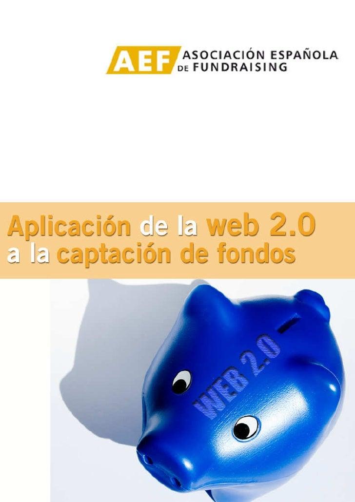 Aplicación de la web 2.0                                                                                        a la capta...