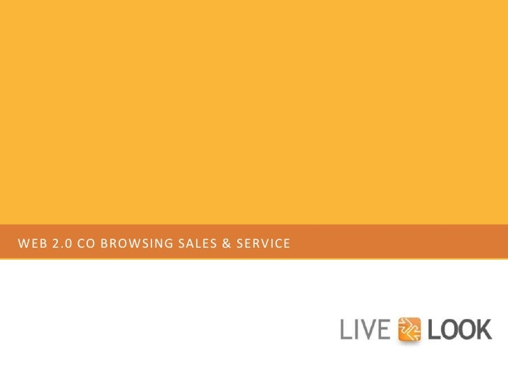 Why LiveLOOK is Best for <br />Web 2.0 Environments<br />Prepared by:<br />Linda Ziemba<br />VP Sales & Marketing<br />lzi...