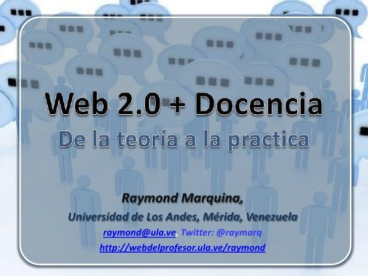 Web 2.0 y Docencia