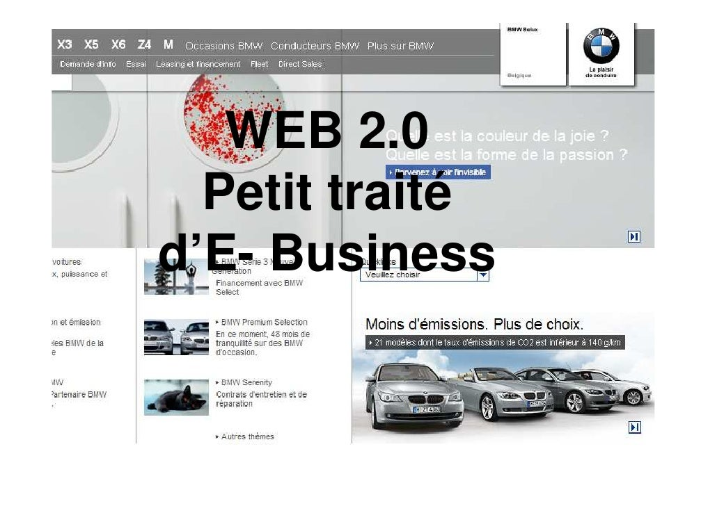 WEB 2.0   Petit traité d'E- Business