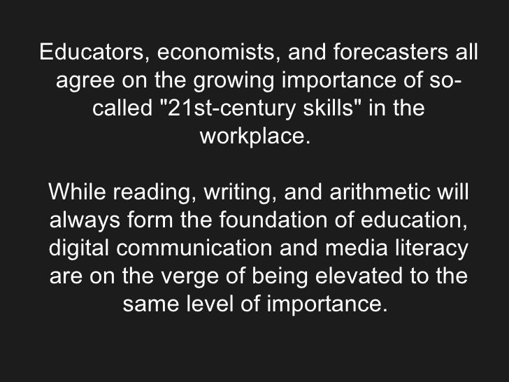 "Educators, economists, and forecasters all agree on the growing importance of so-called ""21st-century skills"" in..."