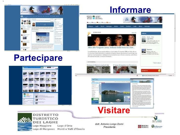 Partecipare Informare Visitare