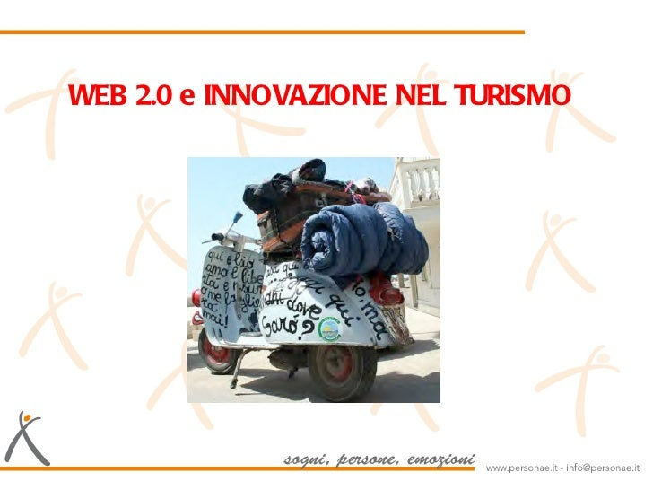WEB 2.0 e INNOVAZIONE NEL           TURISMO