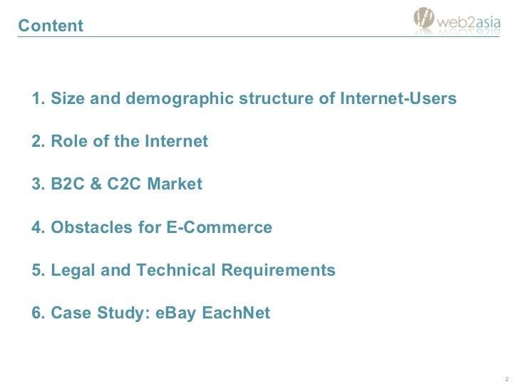Successful e-Commerce in China Slide 2