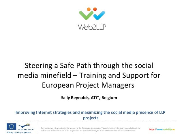 Improving Internet strategies and maximizing the social media presence of LLPprojectsThis project was financed with the su...