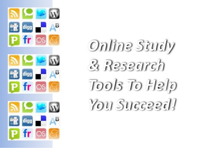 Online Study & Research Tools To Help You Succeed!