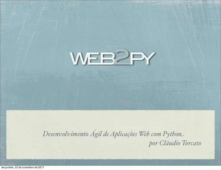Desenvolvimento Ágil de Aplicações Web com Python                                                                       po...