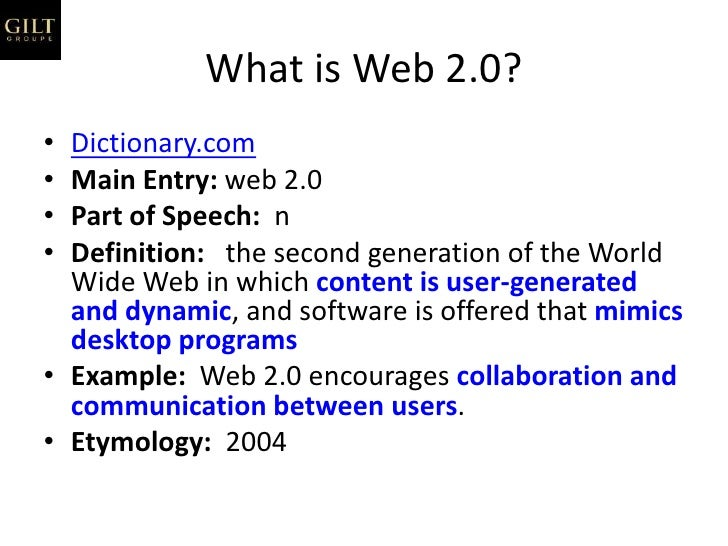 web 2 0 the second generation of the world wide web essay Web 20 refers to world wide web websites that emphasize user-generated  content, usability  second, many of the ideas of web 20 were already featured  in  embarrassingly amateurish music, unreadable poems, essays and novels   20 design patterns and business models for the next generation of software , p.
