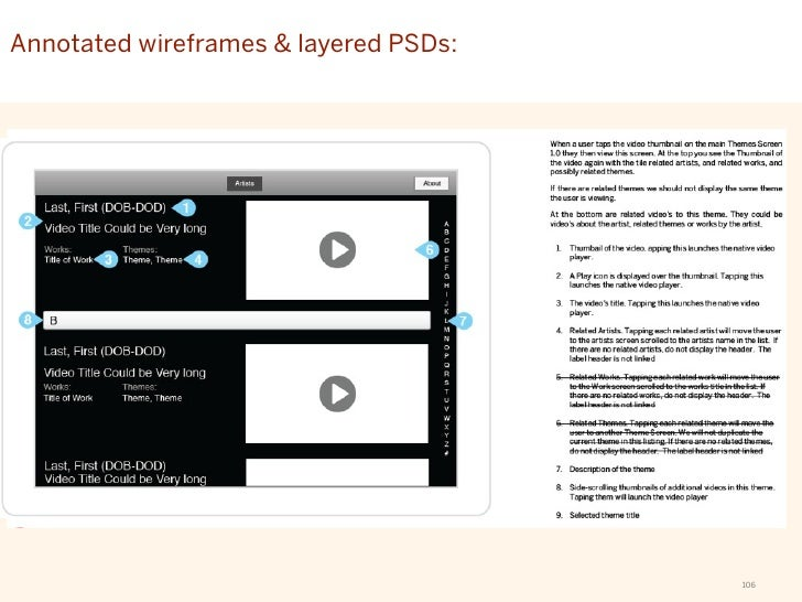 Flows & wireframesEXERCISE 4: Tablet app interface sketch © 2011 Hot Studio, Inc. Proprietary & Confidential   107