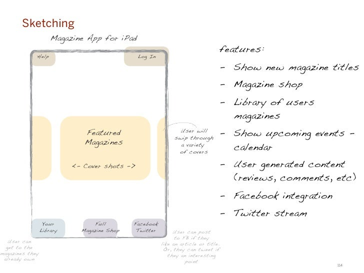 Exercise #4: Features & Functionality mappingStep A:Organize the content and functions onto the provided 'Post-its'—organi...