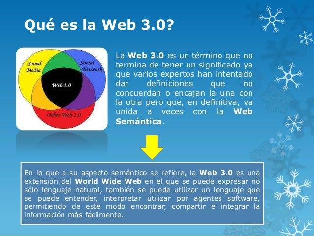 Qué es la Web 3.0?                        La Web 3.0 es un término que no                        termina de tener un signi...