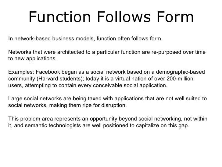 Form Over Function web 3.0 social media and semantic technology - primal fusion - jan-…