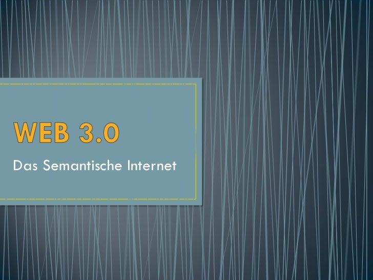 Das Semantische Internet