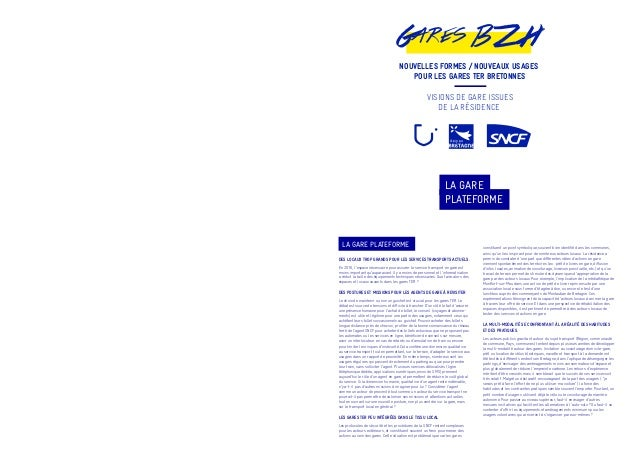 Résidence Gares BZH / 3 visions de gare