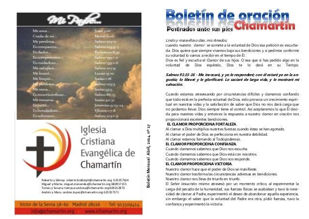 Roberto y Sídney: roberto.biddulph@ichamartin.org 625357164 Miguel y Marta: miguel.menendez@ichamartin.org 680917155 Tomás...
