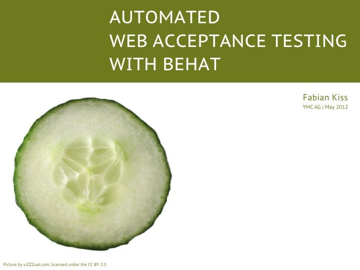 AUTOMATED                                                        WEB ACCEPTANCE TESTING                                   ...