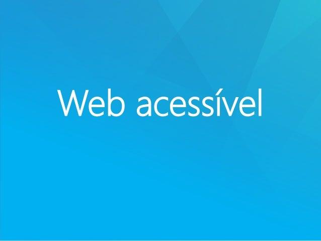 Web acessível