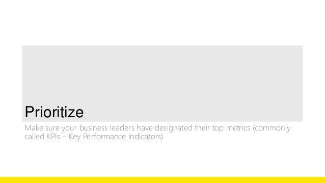 Revenue is a lagging indicator.  Customer satisfaction is a leading indicator.  New customers is a driver.