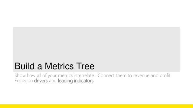 De-Average  Utilize the de-averages technique to create new metrics.