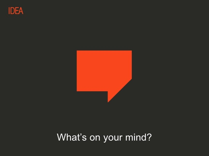 What's on your mind?<br />