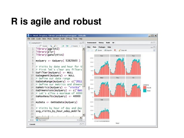 R is agile and robust