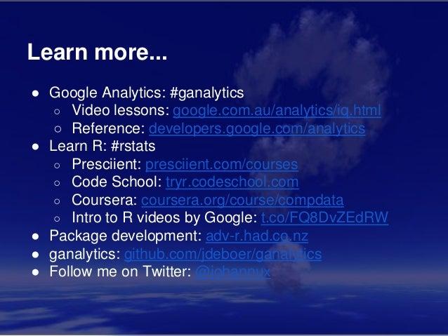 Web Analytics with R