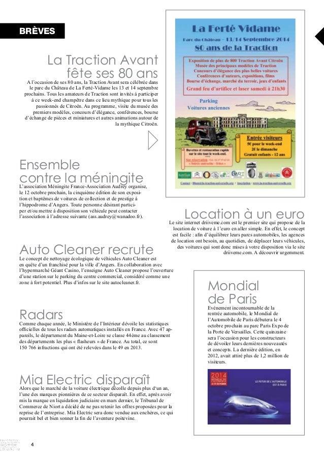 BRÈVES  l'association à l'adresse suivante (ass.audrey@wanadoo.fr). Location à un euro  Auto Cleaner recrute driiveme.com....