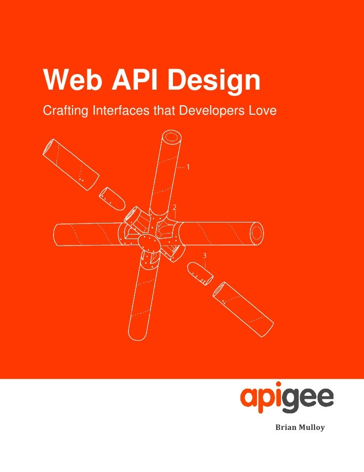 Web API DesignCrafting Interfaces that Developers Love                                       Brian Mulloy