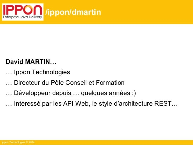 Web API & Cache, the HTTP way - Ippevent 10 Juin 2014 Slide 3