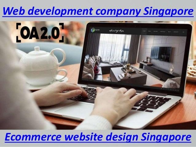 Web development company Singapore Ecommerce website design Singapore