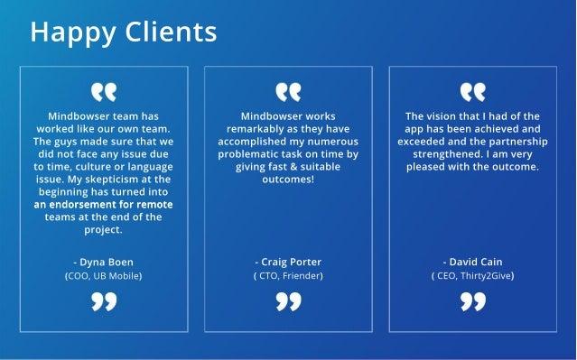 Web App Portfolio: MindBowser