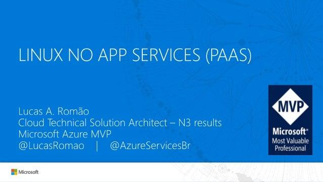 O que é Azure App Service?
