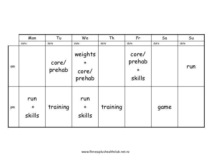 time block schedule template