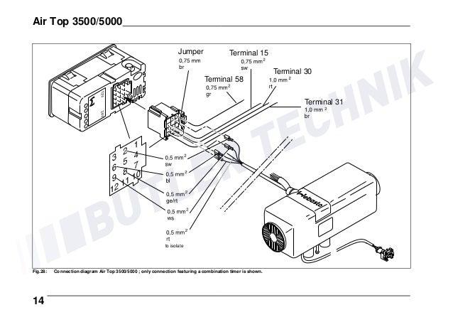 Schema Elettrico Webasto Air Top : Webasto thermostat wiring diagram efcaviation