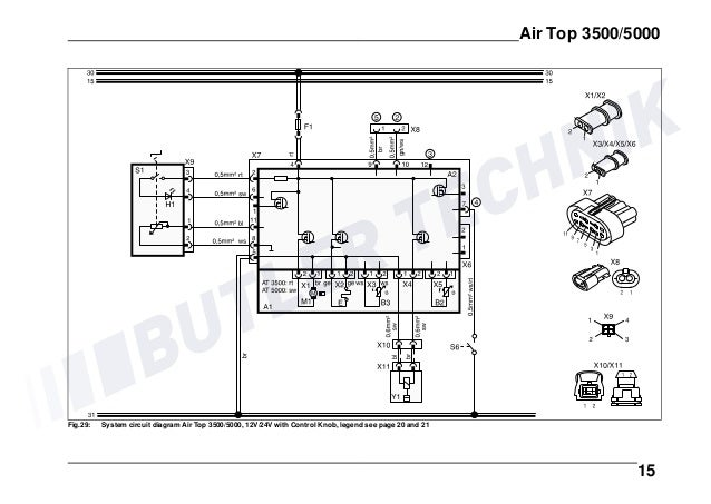 webasto heater wiring diagram view