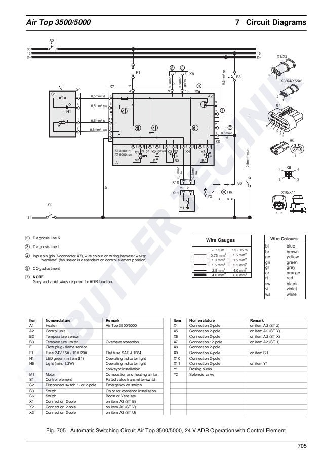 webasto thermo top z cd wiring diagram  vw bmw audi
