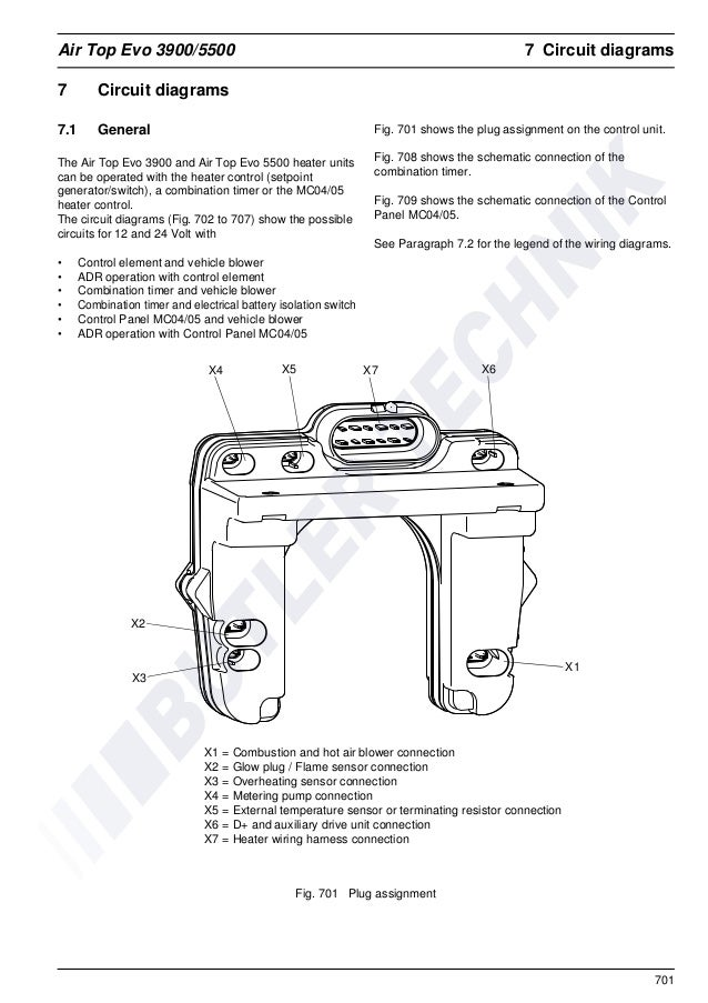 Webasto Air Top 5500 Evo Workshop Manual