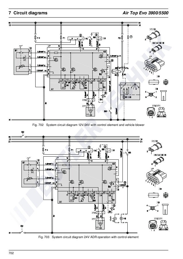 Webasto apu wiring diagrams parts diagram